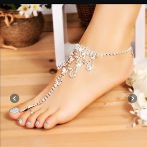 Anklet and Toe ring Beautiful Bling